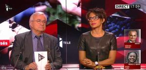 Audrey Pulvar dans Tirs Croisés - 05/12/13 - 04
