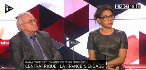 Audrey Pulvar dans Tirs Croisés - 05/12/13 - 11