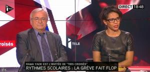 Audrey Pulvar dans Tirs Croisés - 05/12/13 - 16