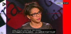 Audrey Pulvar dans Tirs Croisés - 05/12/13 - 17