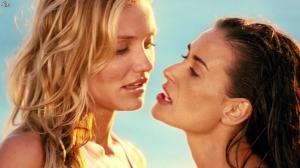 Cameron Diaz et Demi Moore dans Charlies Angels les Anges - 26/12/14 - 04