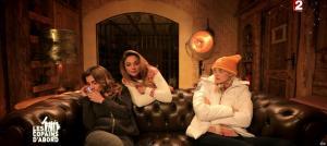 Camille Lou, Julie Zenatti et Ariane Brodier dans les Copains d'Abord Font du Ski - 25/12/14 - 01