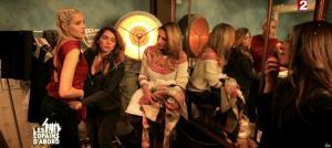 Camille Lou, Sofia Essaidi, Julie Zenatti et Ariane Brodier dans les Copains d'Abord Font du Ski - 25/12/14 - 05