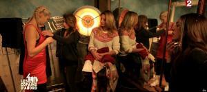 Camille Lou, Sofia Essaidi, Julie Zenatti et Ariane Brodier dans les Copains d'Abord Font du Ski - 25/12/14 - 07