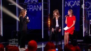 Carla Bruni et Daniela Lumbroso dans la Fete de la Chanson Francaise - 21/11/14 - 13