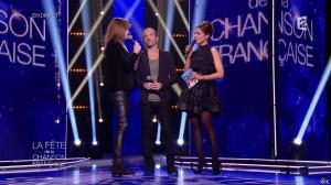 Carla Bruni et Virginie Guilhaume dans la Fete de la Chanson Francaise - 21/11/14 - 11