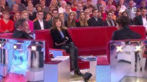 Carla Bruni dans Vivement Dimanche Prochain - 14/12/14 - 02