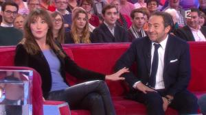 Carla Bruni dans Vivement Dimanche Prochain - 14/12/14 - 05