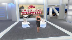Emma Cubaynes dans Euro Millions - 23/12/14 - 03