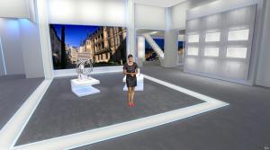 Estelle Denis dans Euro Millions - 18/11/14 - 02