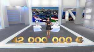 Estelle Denis dans Euro Millions - 18/11/14 - 07