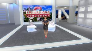 Estelle Denis dans Euro Millions - 18/11/14 - 09