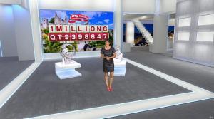 Estelle Denis dans Euro Millions - 18/11/14 - 10