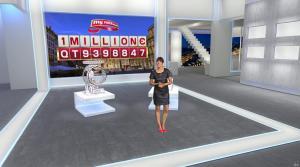 Estelle Denis dans Euro Millions - 18/11/14 - 11
