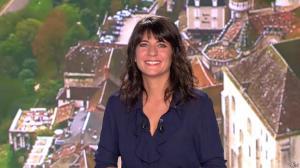 Estelle Denis lors du Tirage du Loto - 01/11/14 - 01