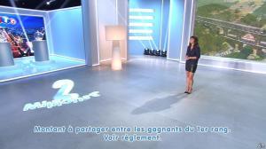 Estelle Denis lors du Tirage du Loto - 01/11/14 - 08
