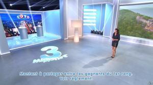 Estelle Denis lors du Tirage du Loto - 01/11/14 - 10