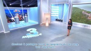 Estelle Denis lors du Tirage du Loto - 01/11/14 - 11