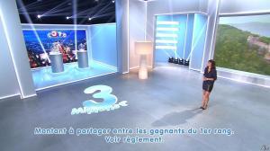 Estelle Denis lors du Tirage du Loto - 01/11/14 - 12