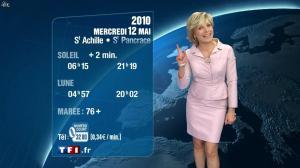 Evelyne Dhéliat à la Météo de 20h - 11/05/10 - 02
