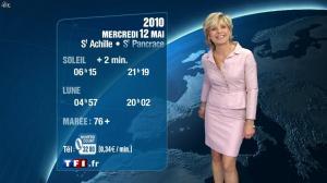 Evelyne Dhéliat à la Météo de 20h - 11/05/10 - 03
