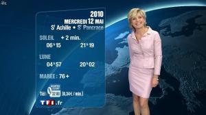 Evelyne Dhéliat à la Météo de 20h - 11/05/10 - 04
