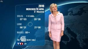 Evelyne Dhéliat à la Météo de 20h - 13/04/10 - 01