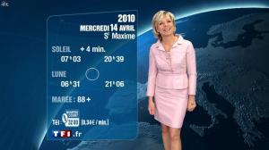 Evelyne Dhéliat à la Météo de 20h - 13/04/10 - 02