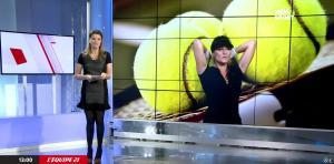 France Pierron dans Menu Sport - 03/12/14 - 02