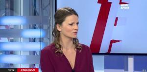 France Pierron dans Menu Sport - 08/12/14 - 02