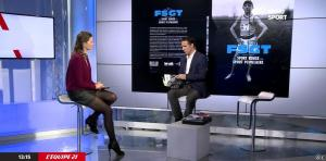 France Pierron dans Menu Sport - 08/12/14 - 03