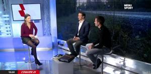 France Pierron dans Menu Sport - 08/12/14 - 06