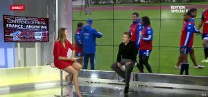 France Pierron dans Menu Sport - 19/11/14 - 05