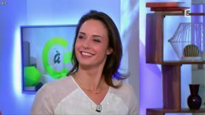 Julia Vignali dans C à Vous - 30/12/14 - 04