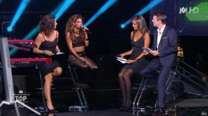 Karine Lemarchand, Tal et Faustine Bollaert dans M6 Fete les 30 Ans du Top 50 - 21/10/14 - 11