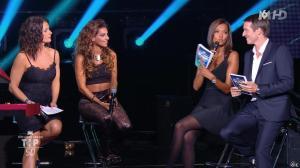 Karine Lemarchand, Tal et Faustine Bollaert dans M6 Fete les 30 Ans du Top 50 - 21/10/14 - 15