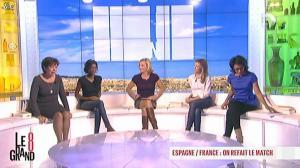Laurence Ferrari, Audrey Pulvar et Hapsatou Sy dans le Grand 8 - 17/10/12 - 09