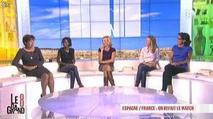 Laurence Ferrari, Audrey Pulvar et Hapsatou Sy dans le Grand 8 - 17/10/12 - 11