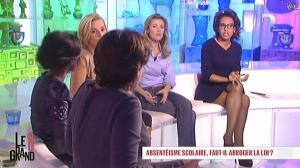 Laurence Ferrari, Audrey Pulvar et Hapsatou Sy dans le Grand 8 - 29/10/12 - 09