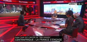 Laurence Ferrari et Audrey Pulvar dans Tirs Croisés - 05/12/13 - 07