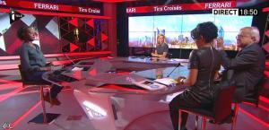 Laurence Ferrari et Audrey Pulvar dans Tirs Croisés - 05/12/13 - 19