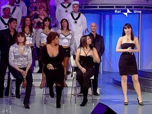 Lorena Bianchetti dans DomeniÇa in - 01/03/09 - 02