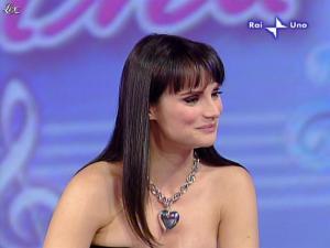 Lorena Bianchetti dans DomeniÇa in - 01/03/09 - 05
