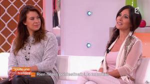Marion Bartoli et Fabienne Carat dans Toute une Histoire - 23/10/14 - 06