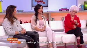 Marion Bartoli et Fabienne Carat dans Toute une Histoire - 23/10/14 - 08