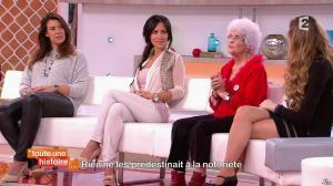 Marion Bartoli et Fabienne Carat dans Toute une Histoire - 23/10/14 - 09