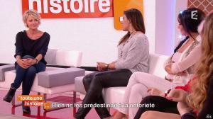 Marion Bartoli et Fabienne Carat dans Toute une Histoire - 23/10/14 - 12