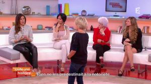 Marion Bartoli et Fabienne Carat dans Toute une Histoire - 23/10/14 - 14