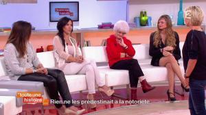 Marion Bartoli et Fabienne Carat dans Toute une Histoire - 23/10/14 - 20
