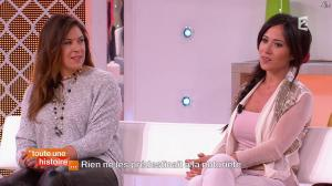 Marion Bartoli et Fabienne Carat dans Toute une Histoire - 23/10/14 - 23